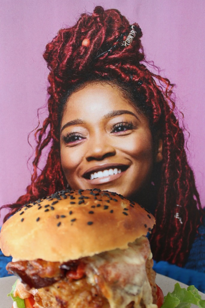 Keke Palmer overjoyed about potentially smashing a Chickeke Parma Burger