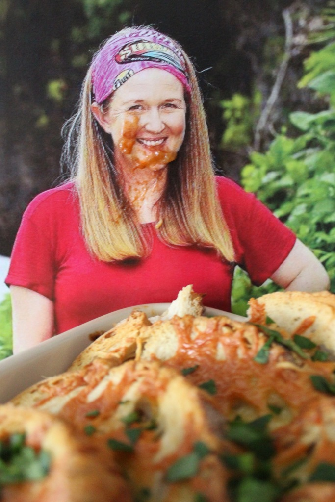Sarah Ayles joyfully eating Lamb Cassarahole & Ayles while I rant about Andy surviving.